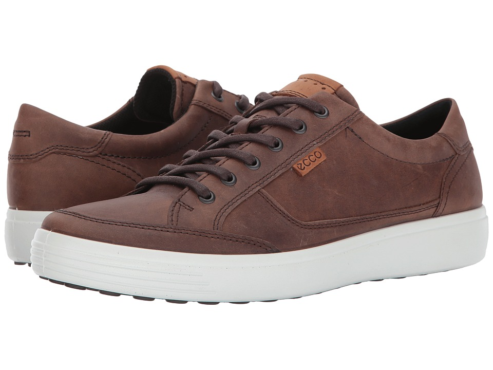 ECCO Soft Retro Sneaker (Cocoa Brown) Men