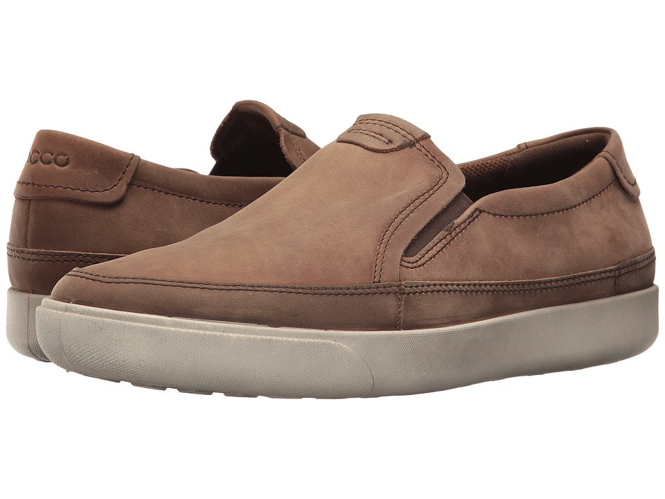 ECCO Gary Slip-On (Cocoa Brown) Men