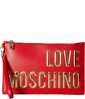 LOVE Moschino - Logo Font Pouch
