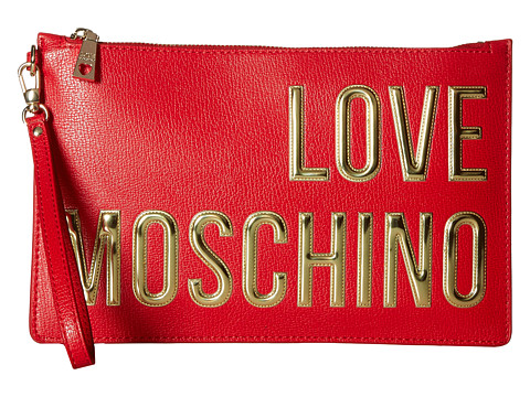 LOVE Moschino Logo Font Pouch