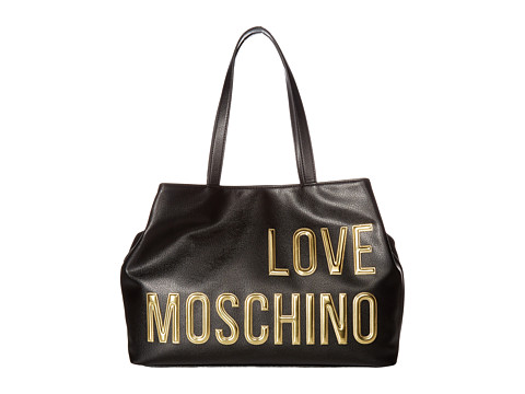 LOVE Moschino Logo Font Tote