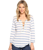 Splendid - Cliffbrook Melange Lace-Up Top