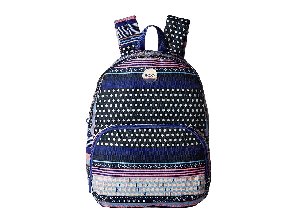 Roxy Always Core Printed Backpack (Dress Blues Small Wint...