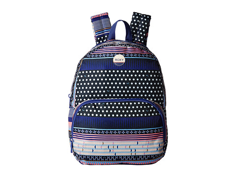Roxy Always Core Printed Backpack - Dress Blues Small Wintery Geo