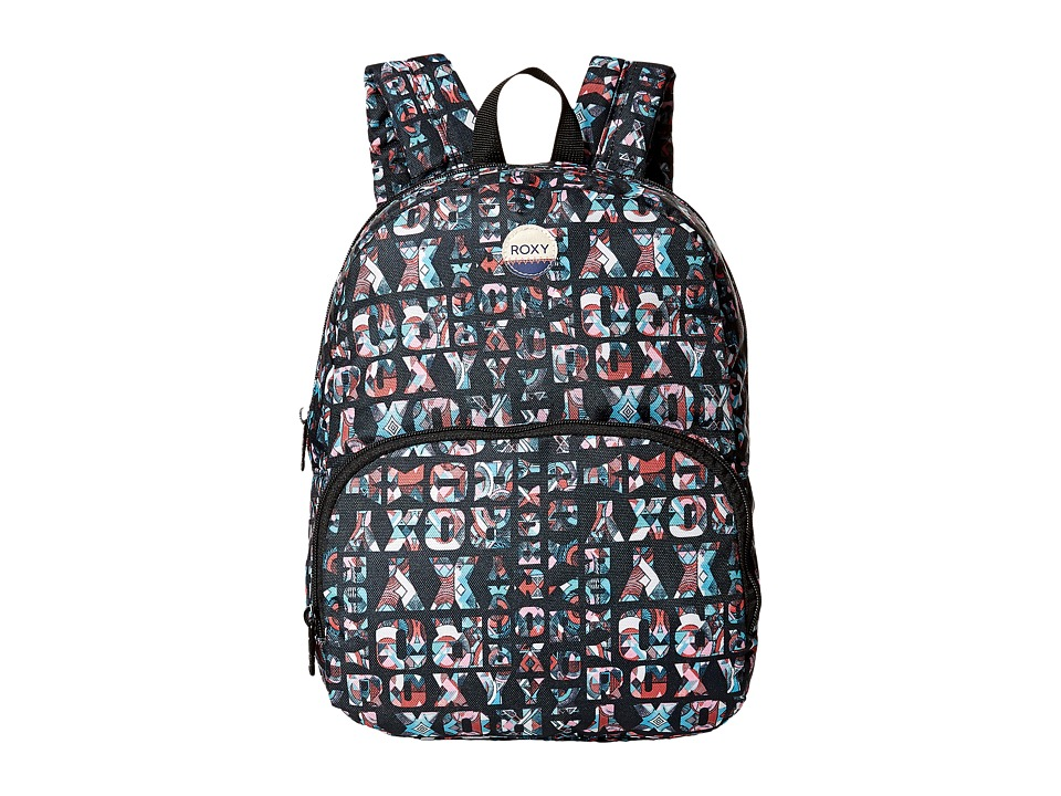 Roxy Always Core Printed Backpack (Anthracite Small Urban...