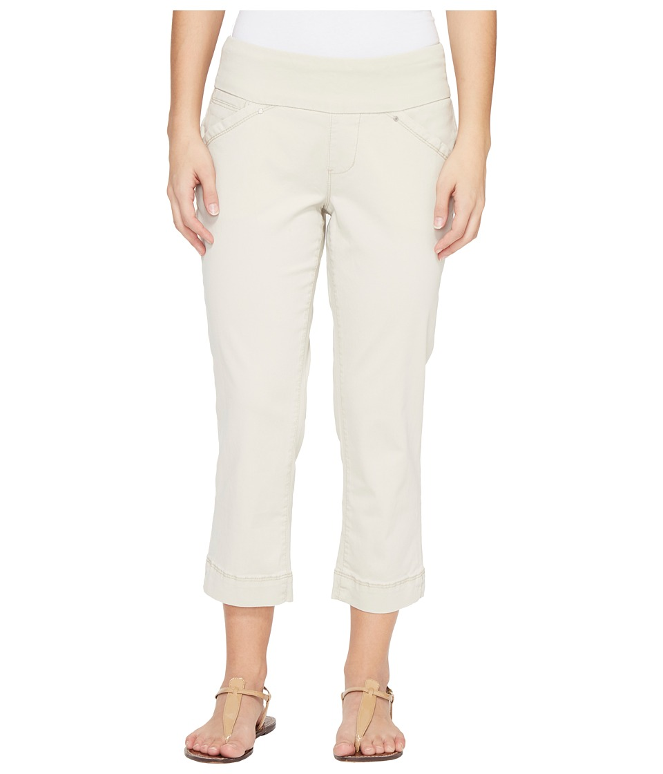 Jag Jeans Petite Petite Marion Pull-On Crop in Bay Twill (Stone) Women