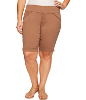 Jag Jeans Plus Size - Plus Size Ainsley Classic Fit Bermuda in Bay Twill