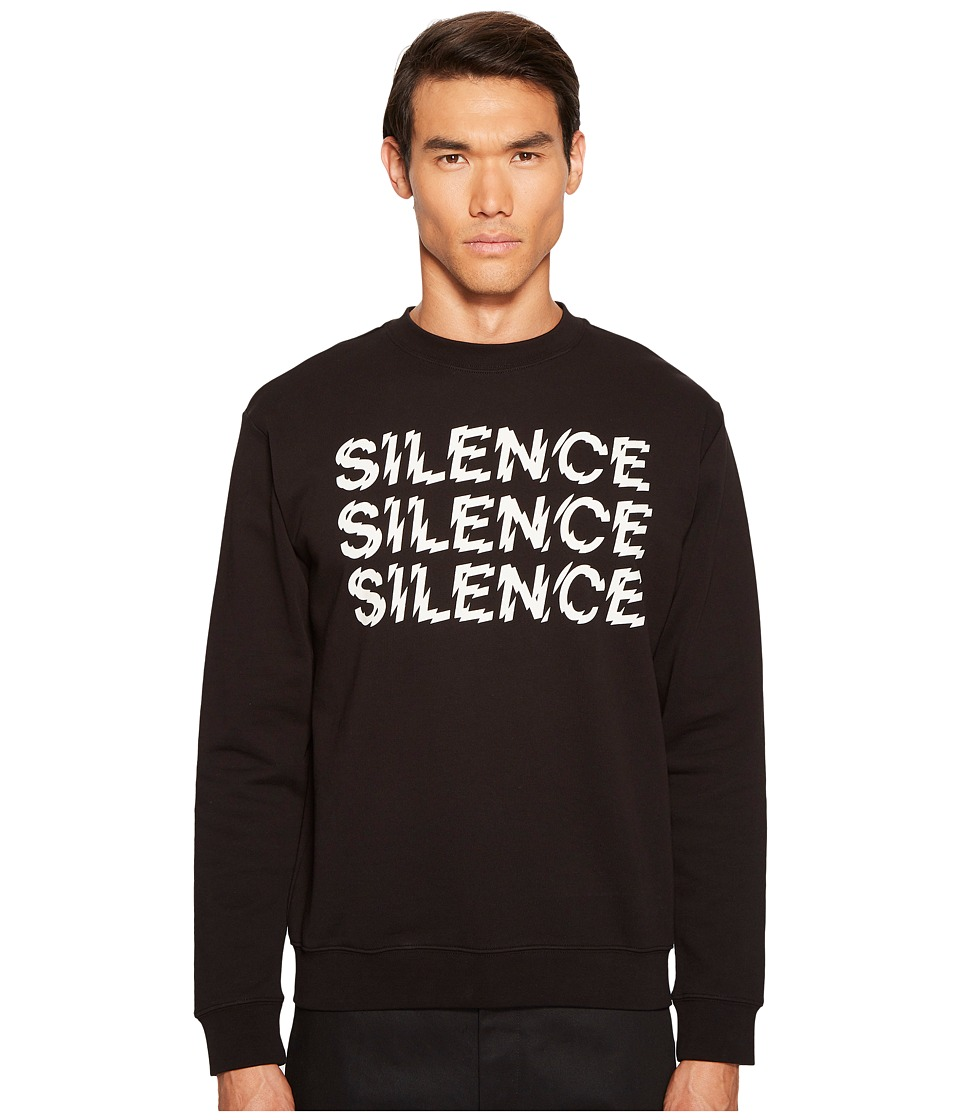 McQ McQ - Triple Silence Clean Crew Neck