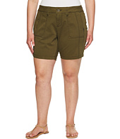Jag Jeans Plus Size - Plus Size Somerset Relaxed Fit Shorts in Bay Twill