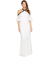JILL JILL STUART - Chemical Lace Halter Off the Shoulder Dress