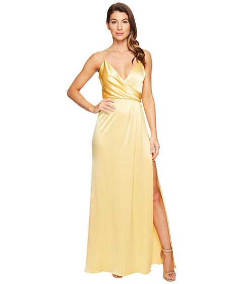 JILL JILL STUART Satin Back Crepe Slip Dress