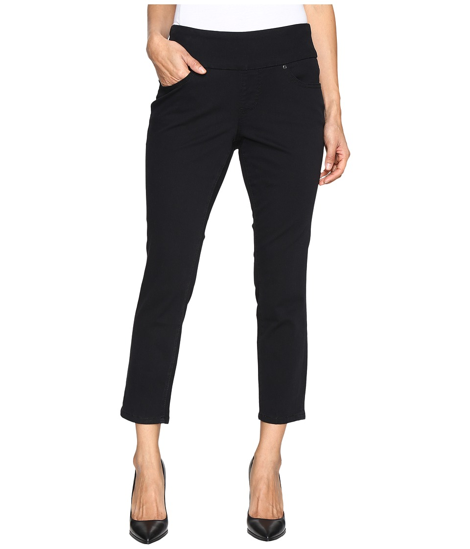 Jag Jeans Petite Petite Amelia Pull-On Slim Ankle in Bay Twill (Black) Women
