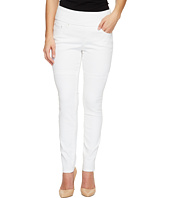 Jag Jeans Petite - Petite Nora Pull-On Skinny in White Denim