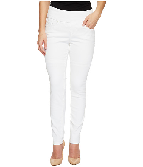 Jag Jeans Petite Petite Nora Pull-On Skinny in White Denim at ...