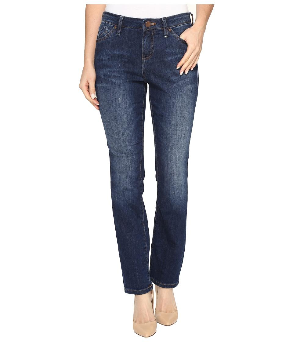 Jag Jeans Petite Petite Portia Straight in Platinum Denim in Bucket Blue (Bucket Blue) Women