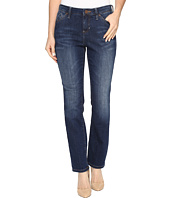 Jag Jeans Petite - Petite Portia Straight in Platinum Denim in Bucket Blue
