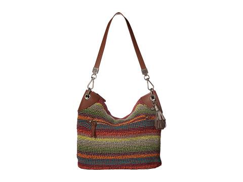 The Sak Indio Crochet Hobo - Gypsy Stripe