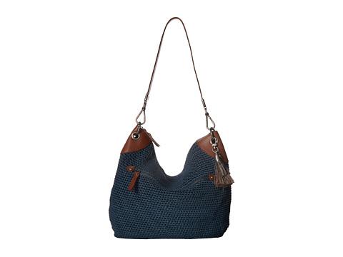 The Sak Indio Crochet Hobo - Vintage Blue