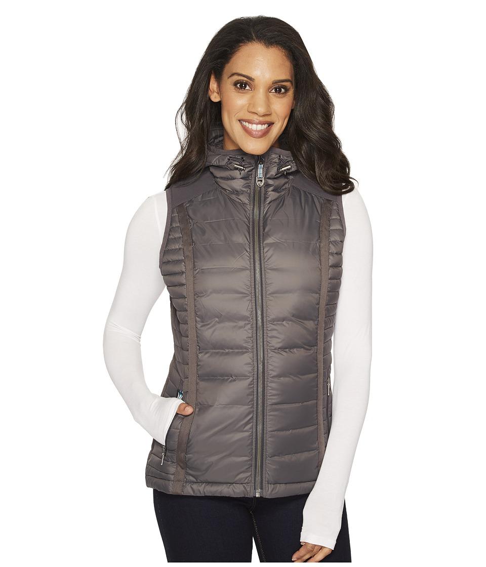 KUHL PRODUCTS INC. Spyfire Hooded Vest (Carbon) Women's Vest