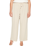 Calvin Klein Plus - Plus Size Wide Leg Pull-On Pants