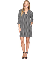 Karen Kane - Diamond Print Shift Dress