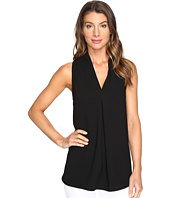 Karen Kane - Front Pleat Shirttail Top