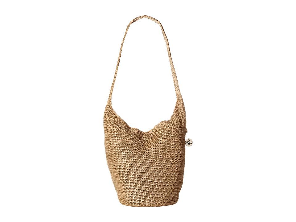 The Sak Palm Springs 120 (Bamboo Metallic) Handbags