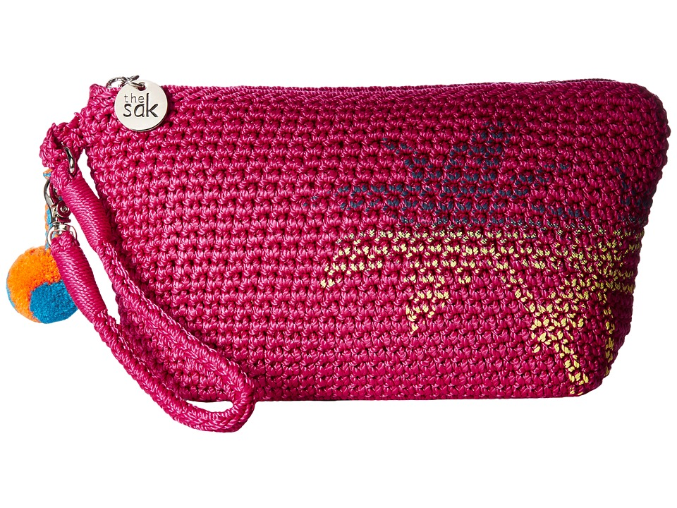 The Sak Palm Spring Cosmetic (Pinkberry Palm) Cosmetic Case