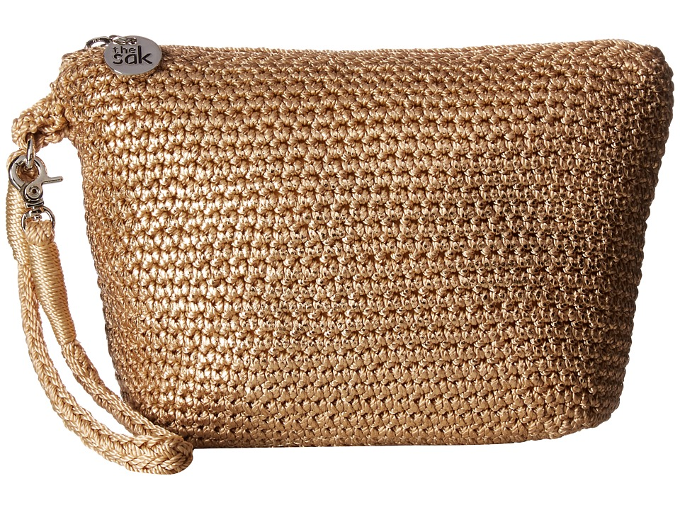 The Sak Palm Spring Cosmetic (Bamboo Metallic) Cosmetic Case