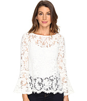 Karen Kane - Lace Bell Sleeve Top