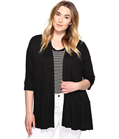 Karen Kane Plus - Plus Size Tiered Jacket