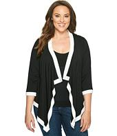 Karen Kane Plus - Plus Size Banded Drape Jacket