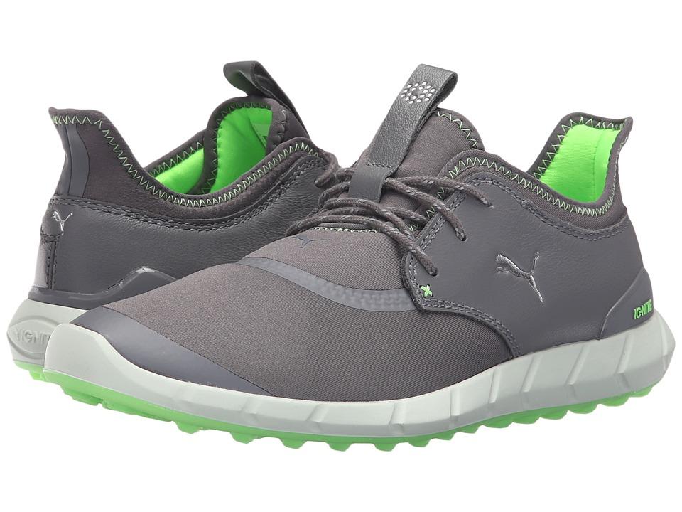 PUMA Golf Ignite Spikeless Sport (Smoked Pearl/Puma Silver/Green Gecko) Men