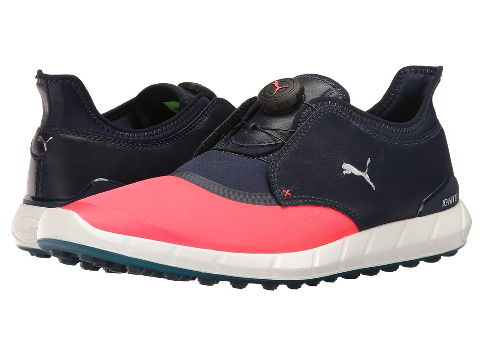 PUMA Golf Ignite Spikeless Sport Disc (Bright Plasma/Peacoat) Men