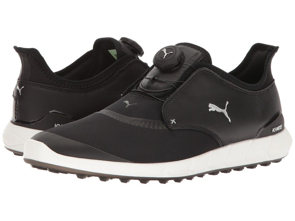 PUMA Golf Ignite Spikeless Sport Disc (Puma Black/Puma Silver) Men