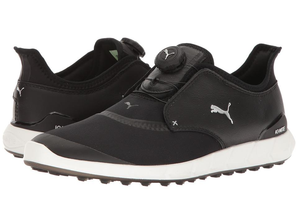 PUMA Golf Ignite Spikeless Sport Disc (Puma Black/Puma Silver) Men