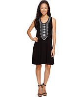 Karen Kane - Embroidered Sleeveless Dress