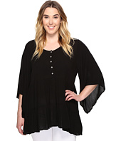 Karen Kane Plus - Plus Size Tiered Ruffle Top
