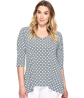 Karen Kane Plus - Plus Size 3/4 Sleeve Swing Top