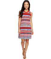 Karen Kane - Painted Stripe Halter Dress