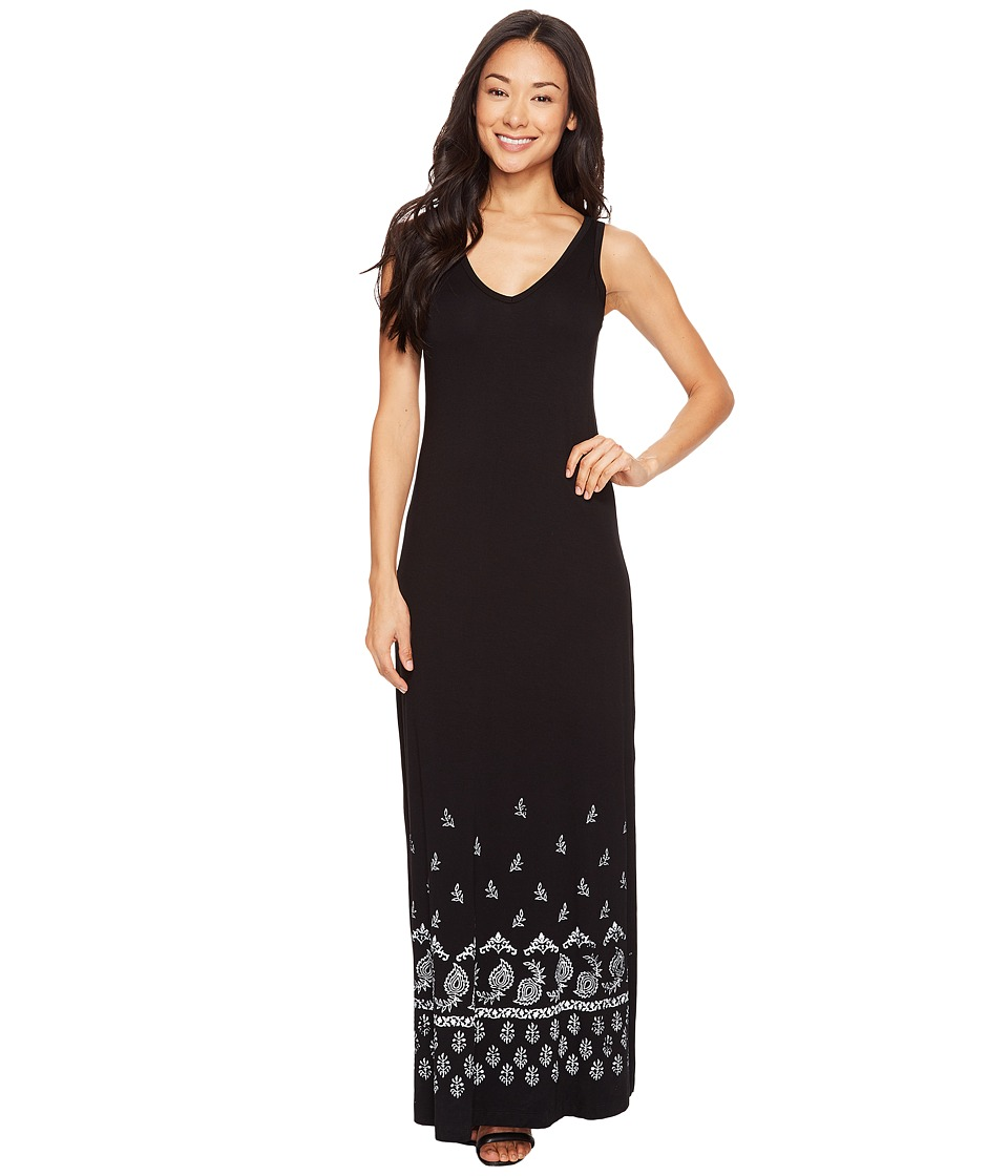 Karen Kane Alana Maxi Dress (Black) Women