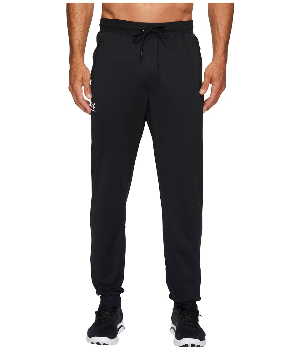 Under Armour - Sportstyle Jogger (Black/White) Mens Clothing