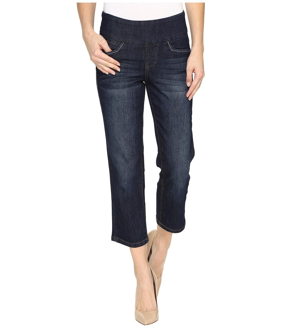 Jag Jeans Baker Pull-On Crop Comfort Denim in Night Breeze (Night Breeze) Women