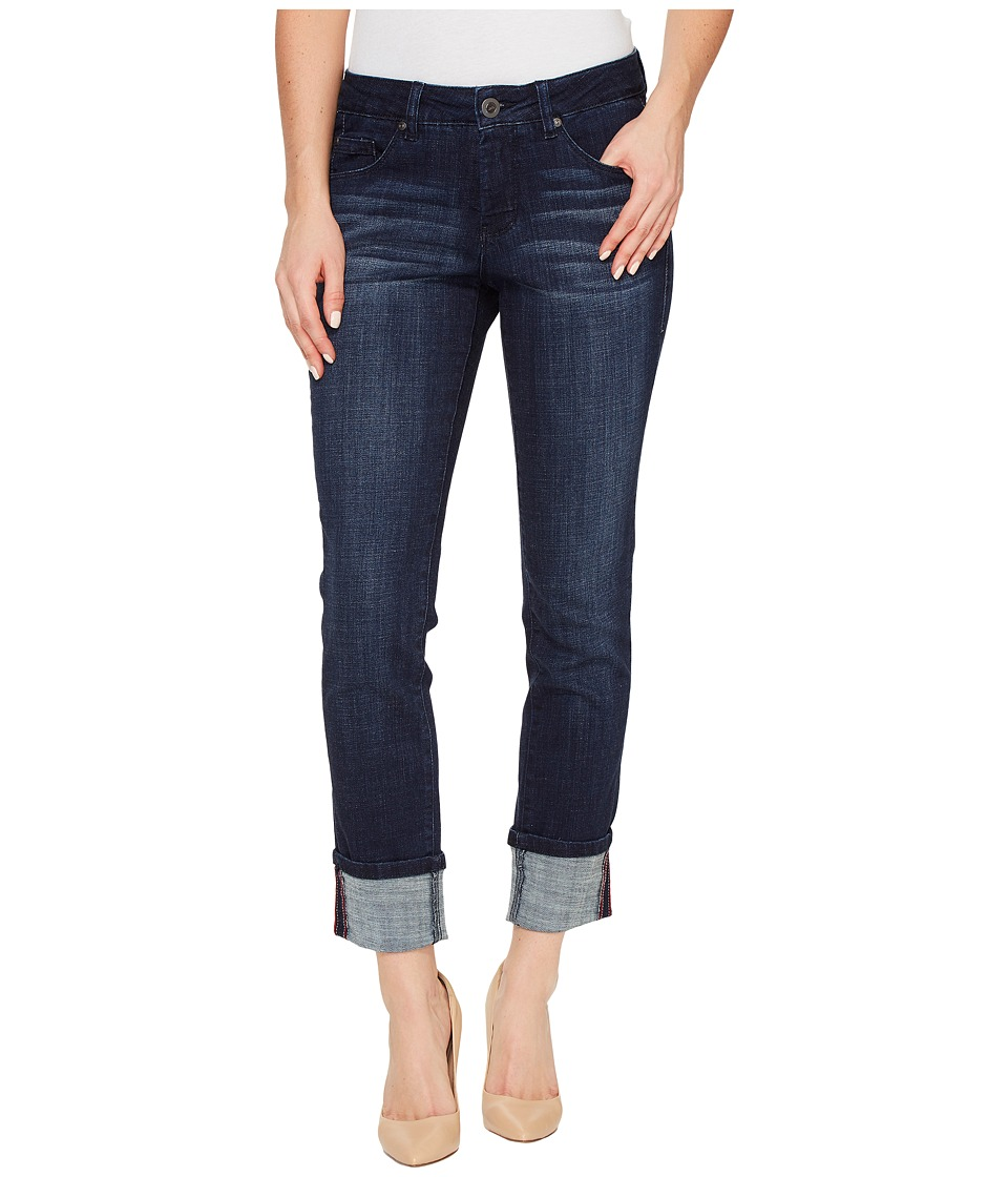 Jag Jeans Maddie Skinny Cuff Crosshatch Denim in Night Breeze (Night Breeze) Women