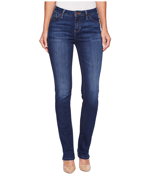 Jag Jeans Lewis Pull On Straight Cuffed Comfort Denim In Weathered ...