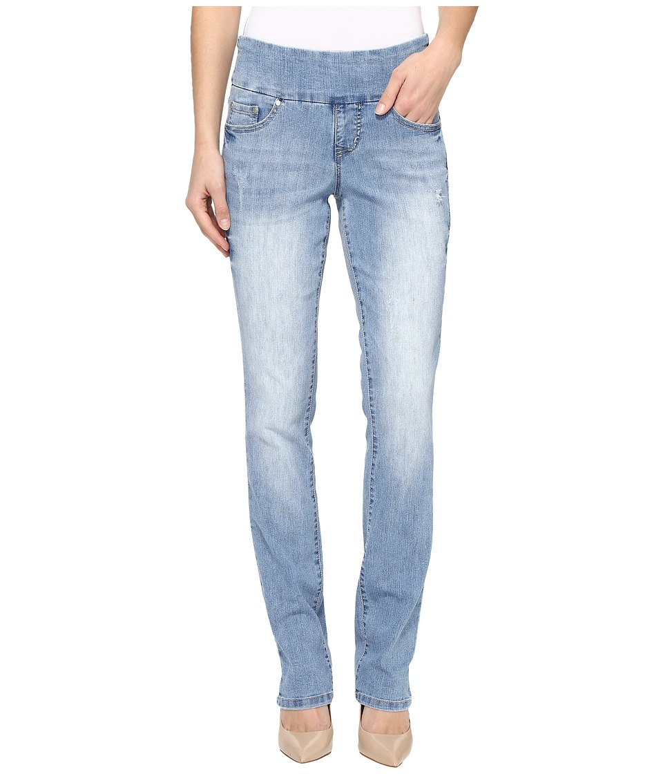 Jag Jeans Peri Pull-On Straight Comfort Denim in Blue Issue (Blue Issue) Women