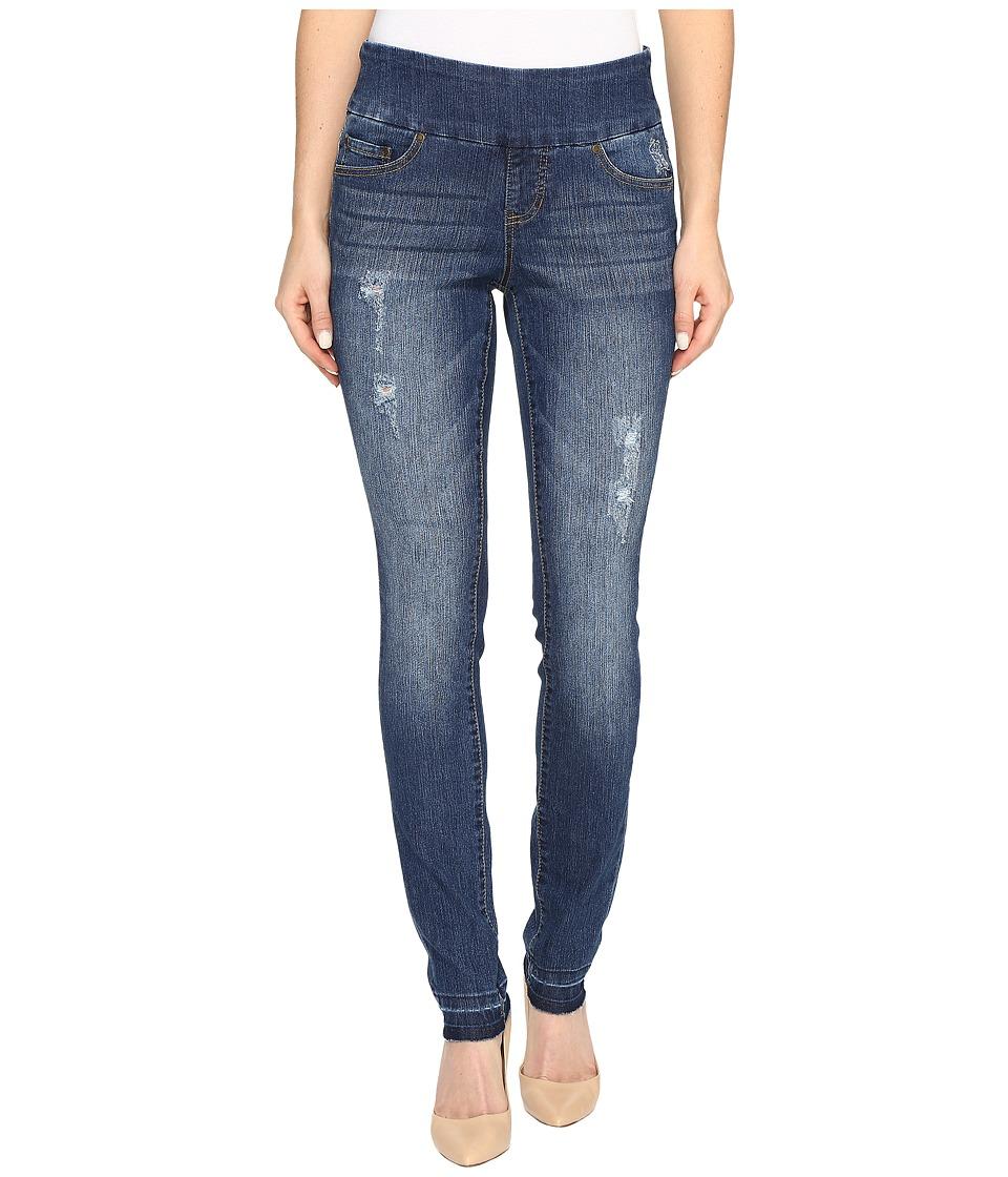 Jag Jeans Nora Pull-On Skinny Comfort Denim in Durango w/ Holes (Durange/Holes) Women