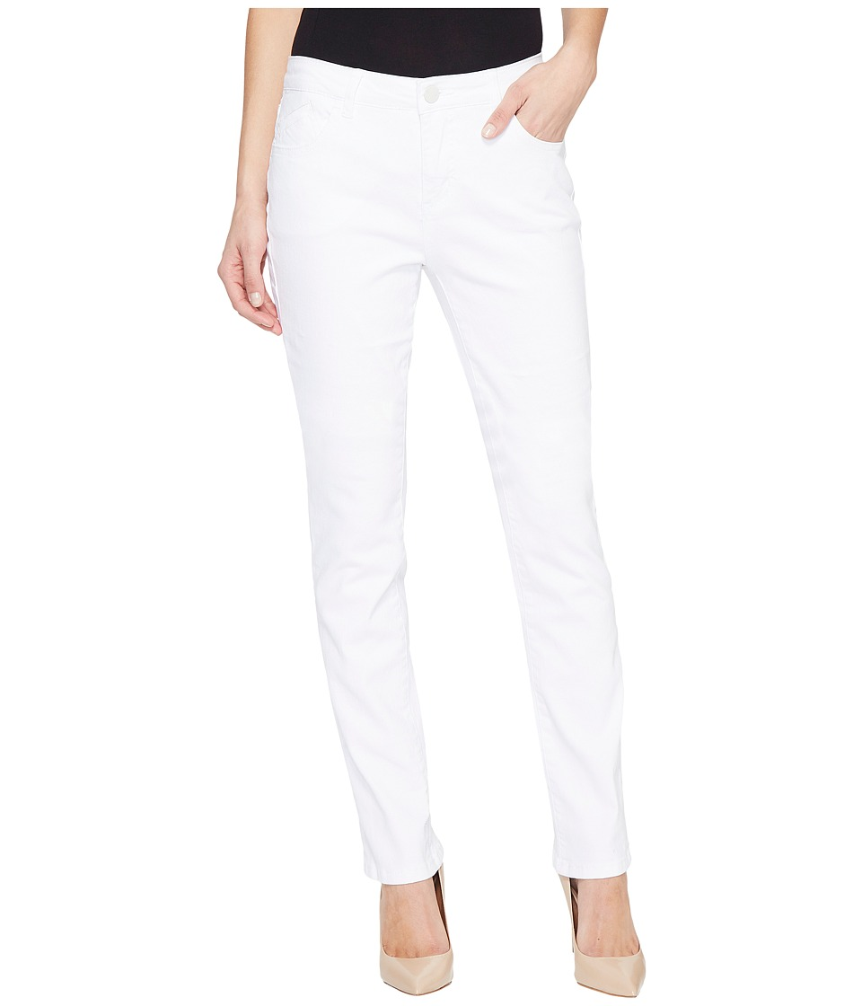 Jag Jeans Portia Straight Denim in White (White) Women