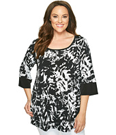 Karen Kane Plus - Plus Size Print Tunic