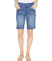 Jag Jeans - Ainsley Pull-On Bermuda Comfort Denim in Weathered Blue